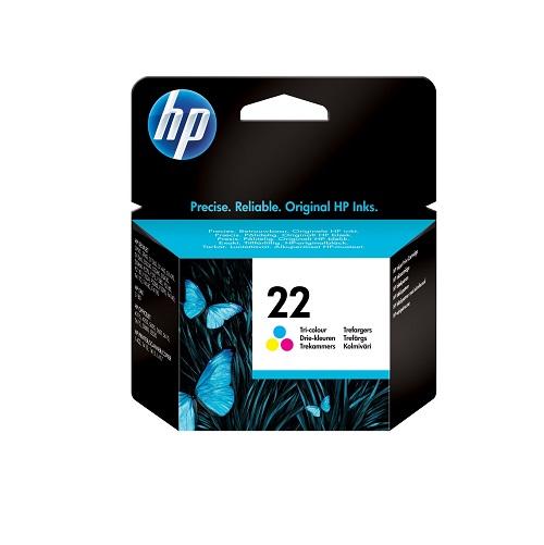 کارتریج جوهرافشان 22 اچ پی رنگی غیر اورجینال HP 22 color