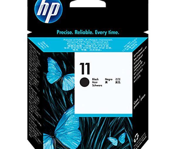 هد پلاتر اچ پی 11 مشکی اورجینال HP 11 Black Printhead Original