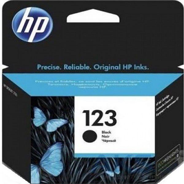 کارتریج جوهرافشان اچ پی 123 مشکی اورجینال HP 123 Black Original Ink Cartridge