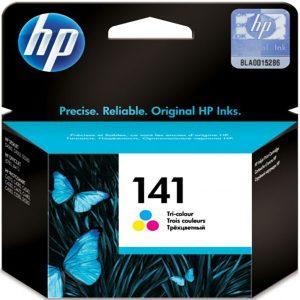 کارتریج جوهرافشان اچ پی 141 رنگی اورجینال HP 141 Tri-color Original Ink Cartridge