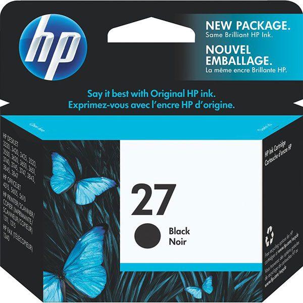 کارتریج جوهرافشان اچ پی 27 مشکی اورجینال HP 27 Black Original Ink Cartridge