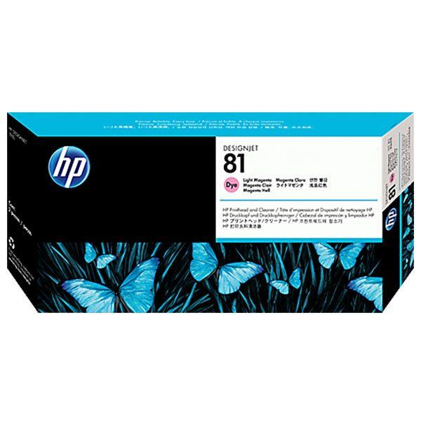هد پلاتر HP 81 قرمز لایت اورجینال HP 81 Magenta Light Original Printhead