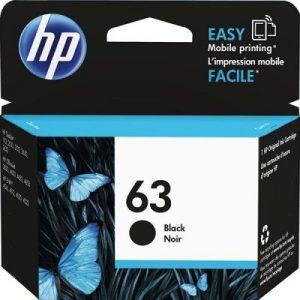 کارتریج جوهرافشان 63 اچ پی مشکی غیر اورجینال HP 63 Black