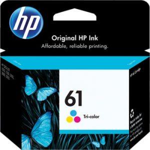 کارتریج جوهرافشان اچ پی 61 رنگی طرح HP 61 color Ink Cartridge