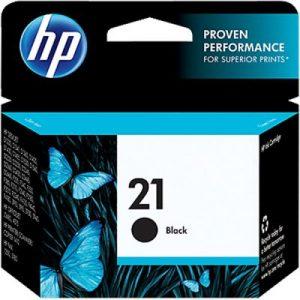کارتریج جوهرافشان اچ پی 21 مشکی طرح HP 21 Black Ink Cartridge