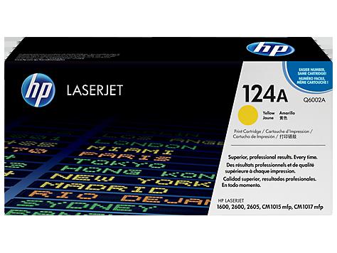 کارتریج 124A زرد اچ پی غیر اورجینال HP 124A Yellow Cartridge