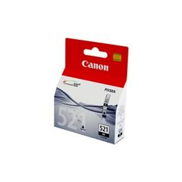 Canon CLI-521 Black Ink Cartridge کارتریج جوهر افشان اورجینال cli-521 مشکی