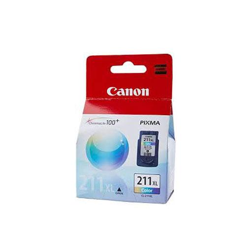 کارتریج جوهرافشان Canon 211 XL رنگی اورجینال Canon 211 XL Color Cartridge