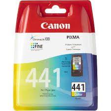 کارتریج جوهرافشان کاننcli 441 رنگی طرح Canon cli 441 Tri-Colour Ink Cartridge