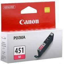 کارتریج جوهرافشان کانن cli 451 قرمز طرح Canon cli 451 Magenta Ink Cartridge