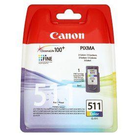 کارتریج جوهرافشان کانن 511 رنگی طرح Canon CL511 Colour Ink Cartridge