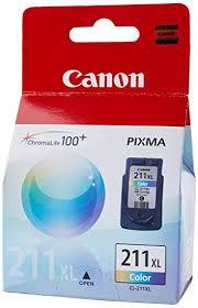 کارتریج جوهرافشان کانن 211 رنگی اورجینال Canon CL-211 Color Inkjet Cartridge