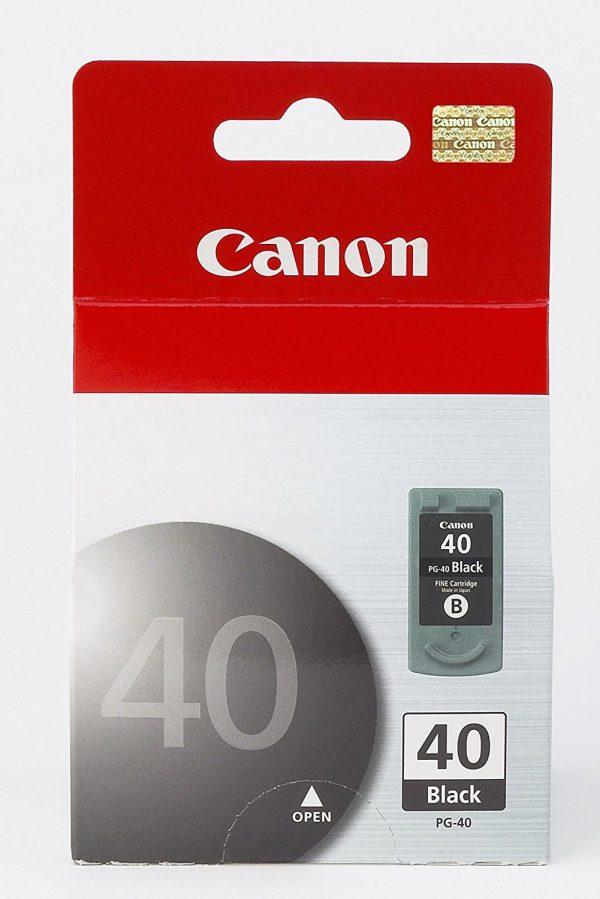 کارتریج جوهر افشان کانن pg 40 مشکی اورجینال Canon pg 40 Black Ink Cartridge
