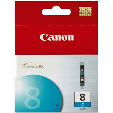 کارتریج اورجینال CANON cli 8 آبی CANON cli 8 Cyan Ink