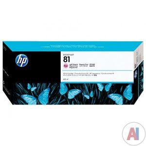 کارتریج پلاتر اچ پی 81 قرمز کم رنگ طرح اورجینال HP 81 Light Magenta ink cartridge