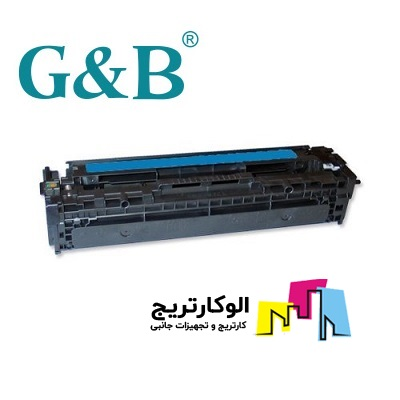 کارتریج جی اند بی HP 410A آبی HP 410A CF411A Cyan G&B