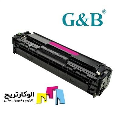 کارتریج جی اند بی HP 410A قرمز HP 410A CF413A Magenta G&B