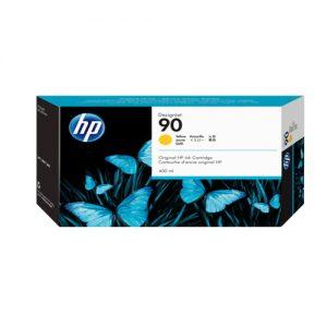 کارتریج جوهری پلاتر HP 90 زرد اورجینال HP 90 Yellow Ink Cartridge