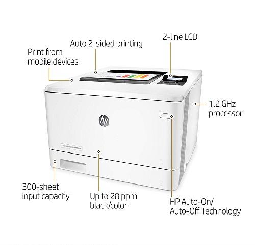 نحوه شارژ کارتریج 410A پرینتر رنگی HP Printer M452dn