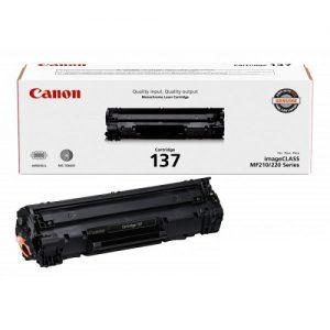 کارتریج طرح اورجینال کانن 137 مشکی CANON 137 Black Cartridge