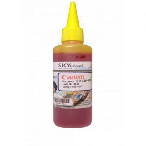 جوهر 100ml اسکای زرد کانن Sky 100ml ink yellow Canon